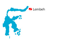 map lembeh diving sulawesi small